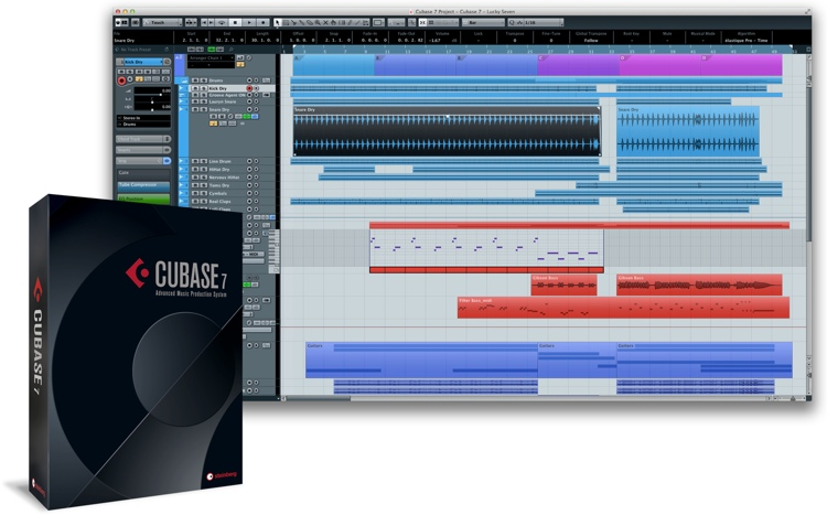 Steinberg Cubase 7.5 - Upgrade from Cubase 4 or 5 (boxed) image 1