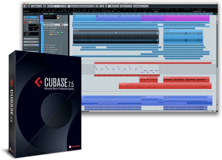 Steinberg Cubase 7.5 - Upgrade from Select Steinberg Products (boxed) image 1