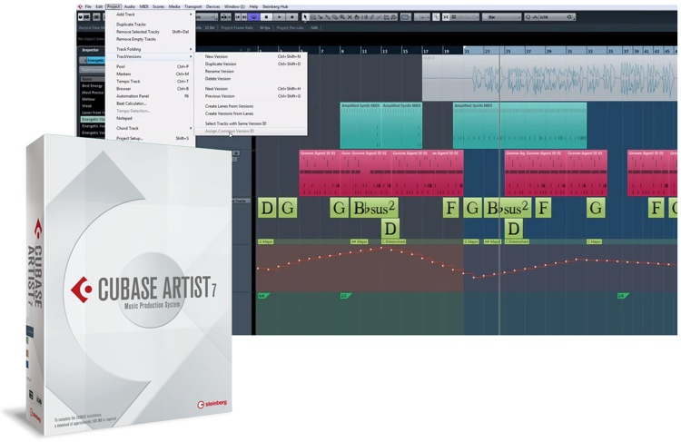 Steinberg Cubase Artist 7 - Academic Version (boxed) image 1