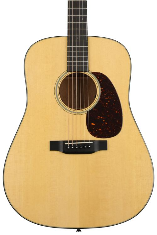 Martin D-18E Retro, Dreadnought, Acoustic/Electric, Natural image 1