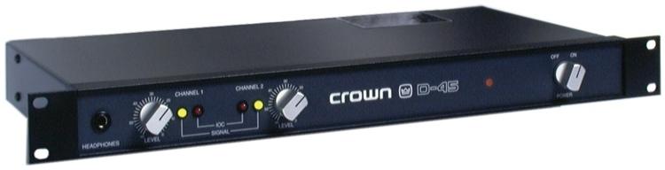 Crown D-45 image 1