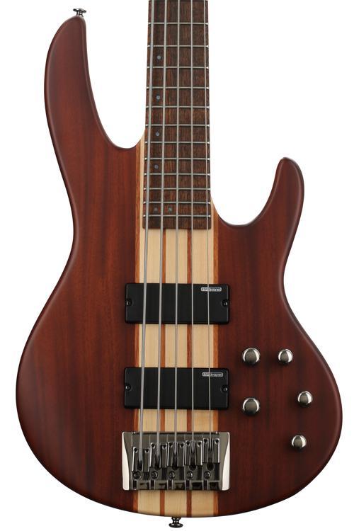 ESP LTD D-5 - 5 string Natural Satin image 1