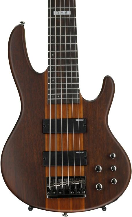 ESP LTD D-6 - 6 string Natural Satin image 1
