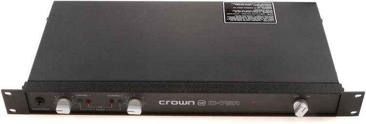 Crown D-75A image 1
