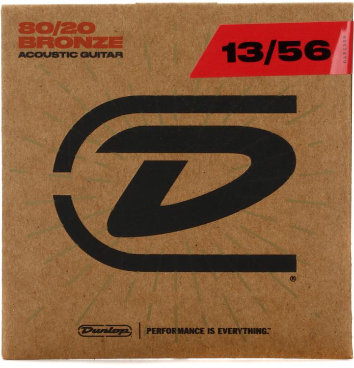 Dunlop DAB1356 80/20 Bronze Medium Acoustic Strings image 1