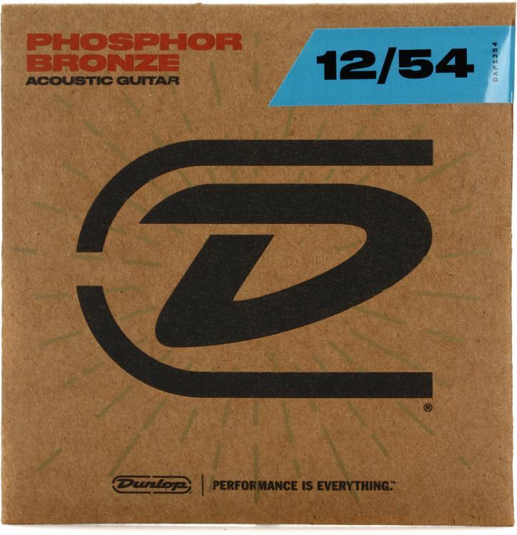 Dunlop DAP1254 Phosphore Bronze Light Acoustic Strings image 1