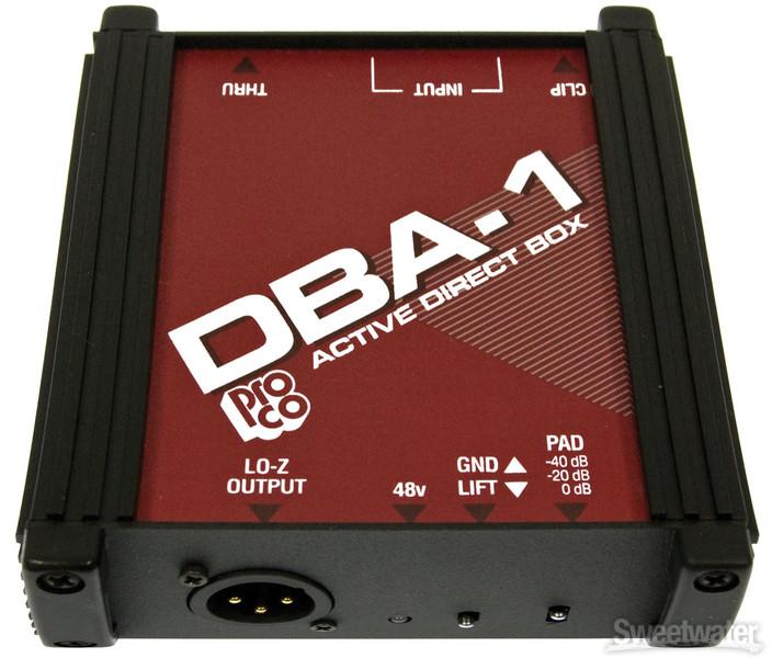 Pro Co DBA1 image 1