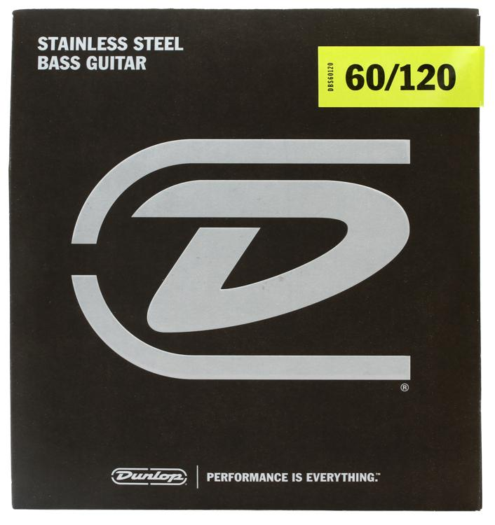 Dunlop DBS60120 Stainless Steel Extra Heavy Drop Bass Strings image 1