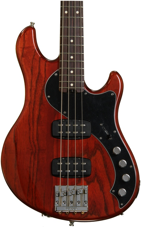 Fender American Deluxe Dimension Bass IV HH - Cayenne image 1