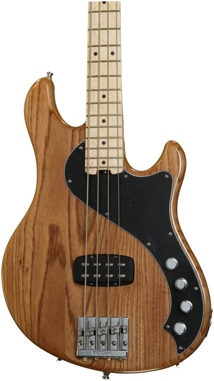 Fender American Deluxe Dimension Bass IV - Natural image 1