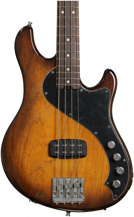 Fender American Deluxe Dimension Bass IV - Violin Burst image 1