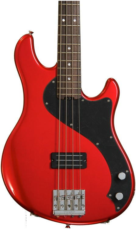 Fender Modern Player Dimension Bass - Candy Apple Red image 1