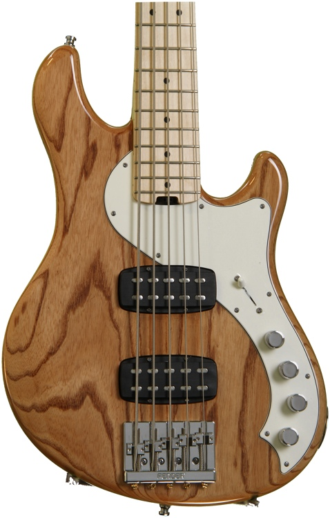 Fender American Deluxe Dimension Bass V HH - Natural image 1