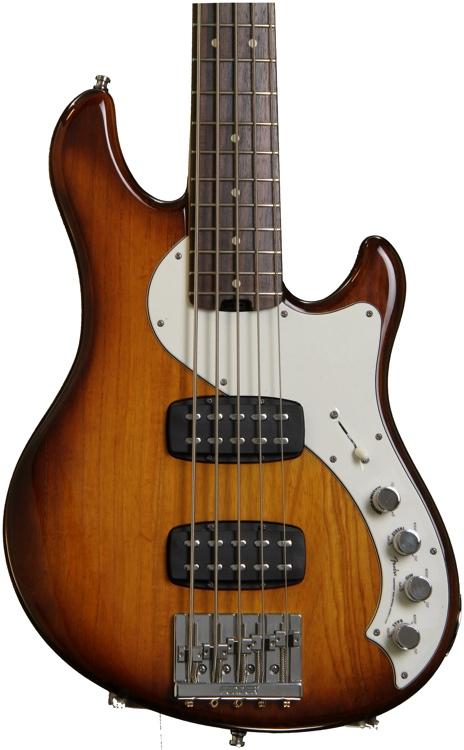 Fender American Deluxe Dimension Bass V HH - Violin Burst image 1