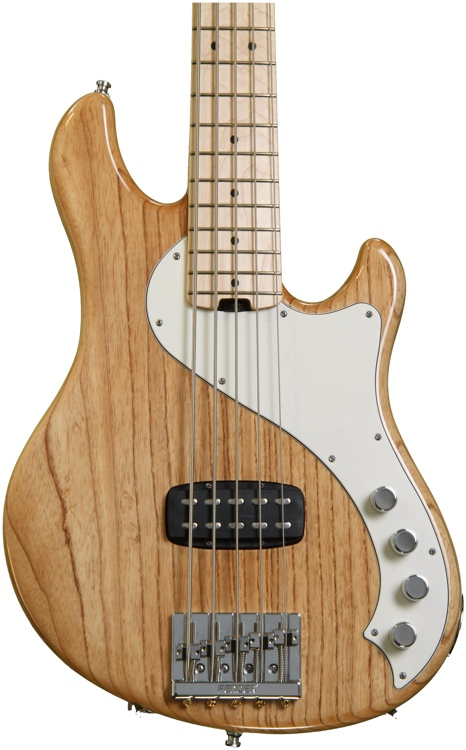 Fender American Deluxe Dimension Bass V - Natural image 1