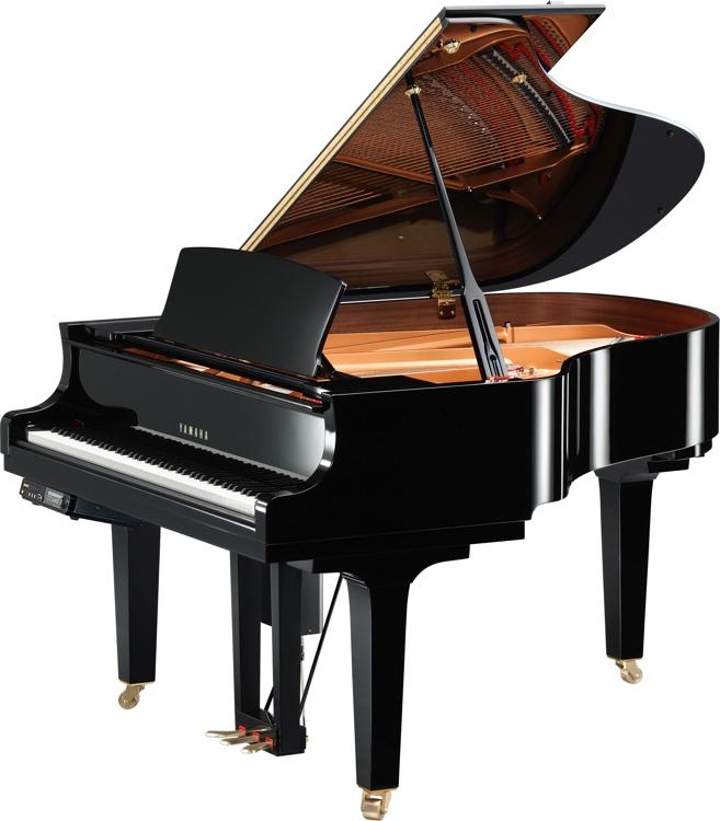 Yamaha DC2XE3S Disklavier Grand Piano - Polished Ebony finish image 1