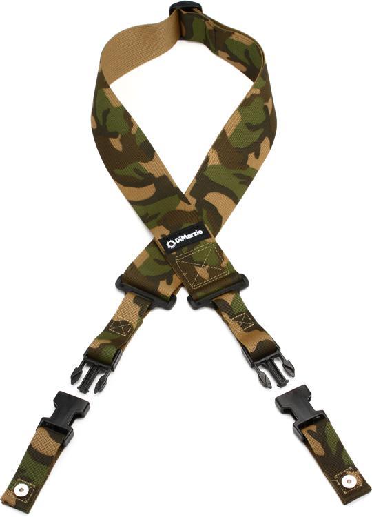 DiMarzio ClipLock Strap - Cordura Camouflage image 1