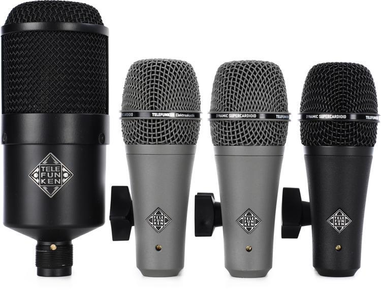 Telefunken DD4 Drum Microphone Set image 1