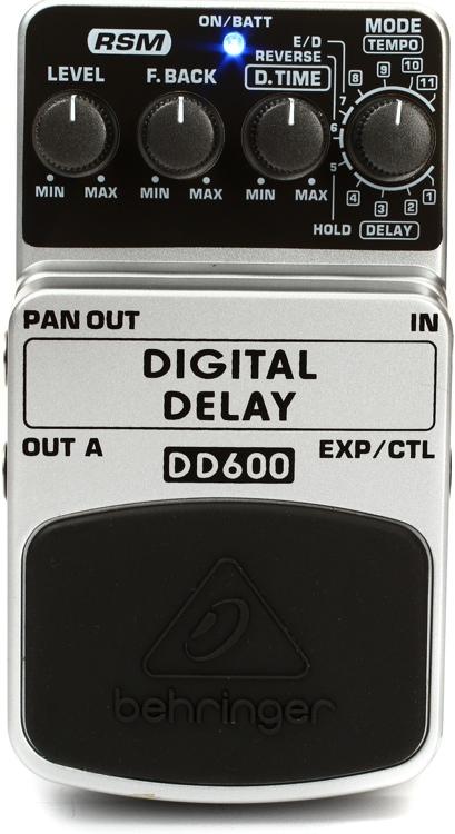 Behringer DD600 Digital Delay Pedal image 1