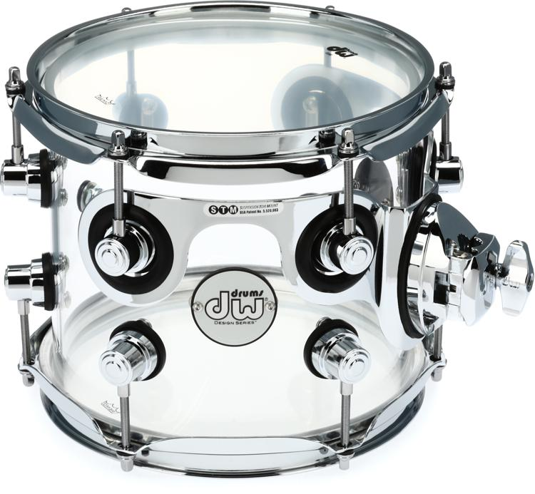 DW Design Series Clear Acrylic Tom - 7