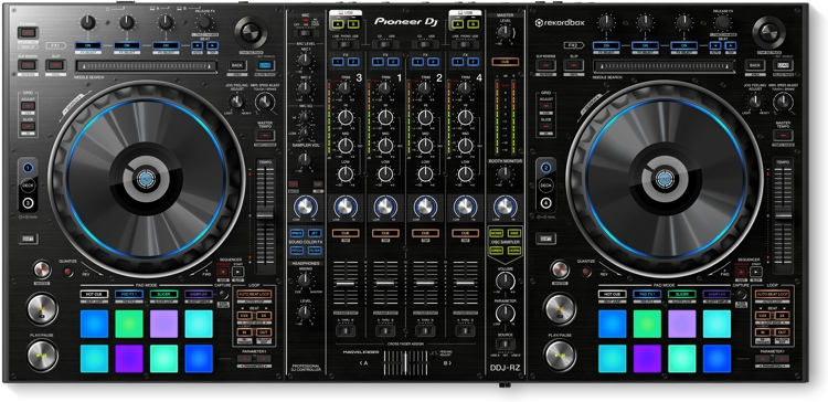 Pioneer DJ DDJ-RZ 4-deck rekordbox DJ Controller image 1