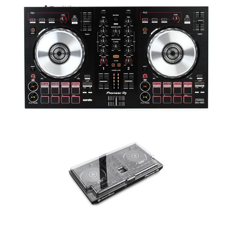 Pioneer DJ DDJ-SB3 Decksaver Bundle