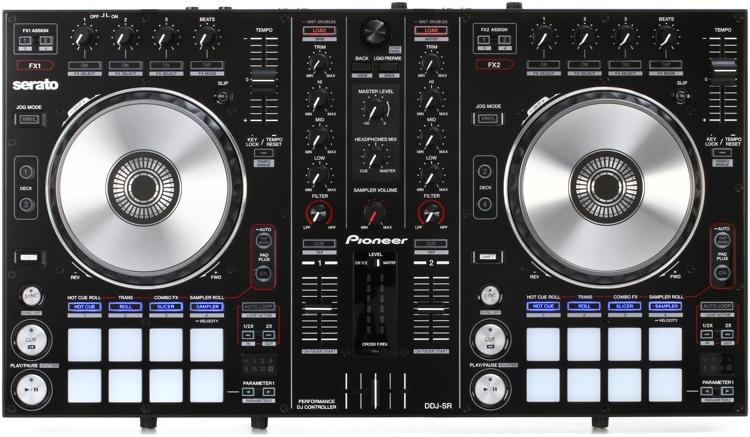 Pioneer DJ DDJ-SR 4-deck Serato DJ Controller image 1