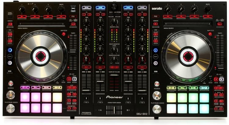Pioneer DJ DDJ-SX2 4-deck Serato DJ Controller image 1