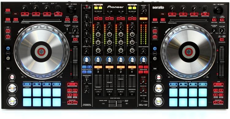 Pioneer DJ DDJ-SZ 4-deck Serato DJ Controller image 1