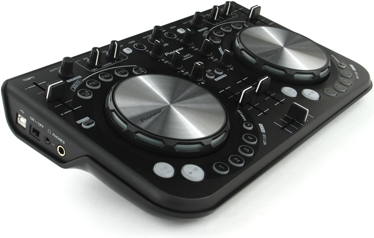 Pioneer DJ DDJ-WeGO Compact DJ Controller - Black image 1