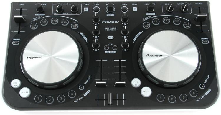 Pioneer DJ DDJ-WeGO Compact DJ Controller - White image 1