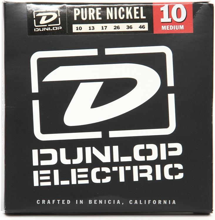 Dunlop DEK1046 Pure Nickel Medium Electric Strings image 1