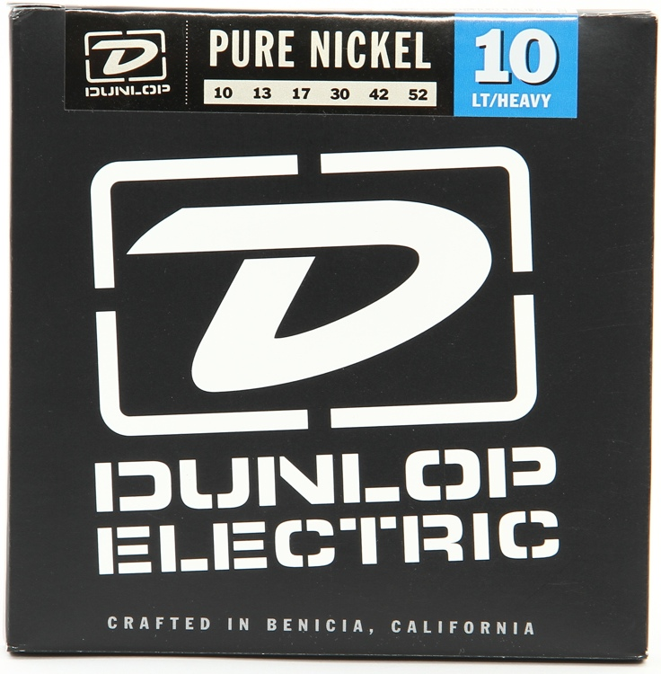Dunlop DEK1052 Pure Nickel Light/Heavy Electric Strings image 1