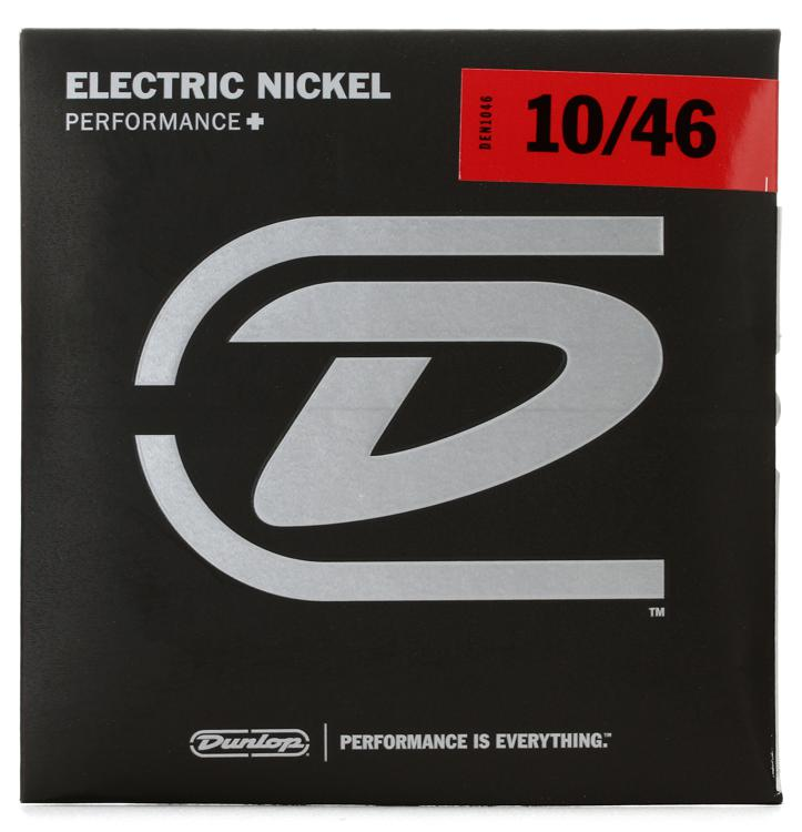 Dunlop DEN1046 Nickel Plated Steel Electric Strings - .010-.046 Medium image 1