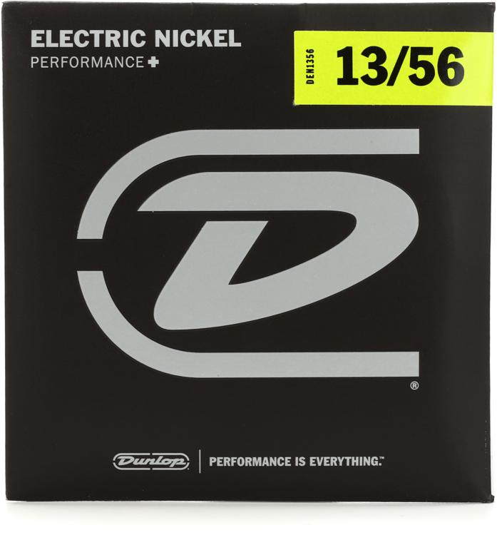 Dunlop DEN1356 Nickel Plated Steel Electric Strings - .013-.056 Extra Heavy image 1