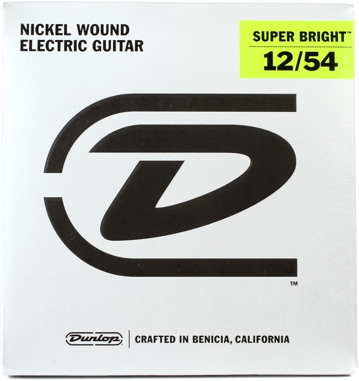 Dunlop Super Bright Electric Strings - .012-.054, Heavy image 1