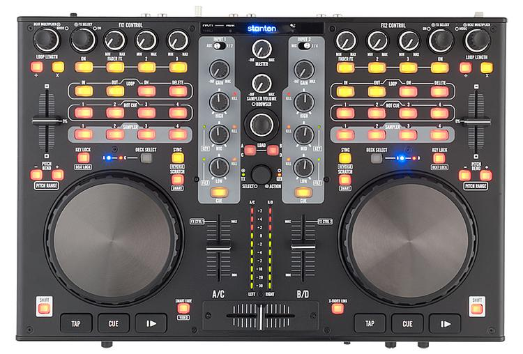 Stanton DJC.4 4-channel DJ Controller image 1