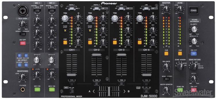 Pioneer DJ DJM-5000 4-channel Rackmount DJ Mixer image 1