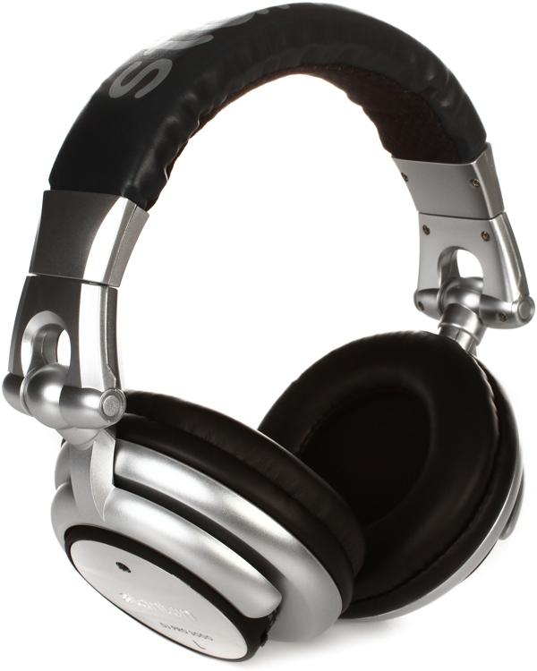 Stanton DJ Pro 3000 Folding DJ Headphones w/ LED - Closed image 1
