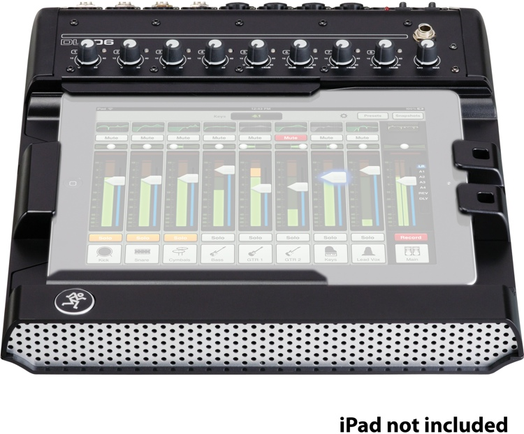 Mackie DL806 iPad-controlled Digital Mixer image 1