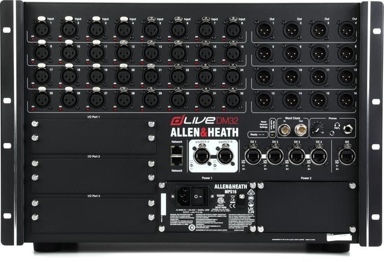 Allen & Heath dLive DM32 MixRack image 1