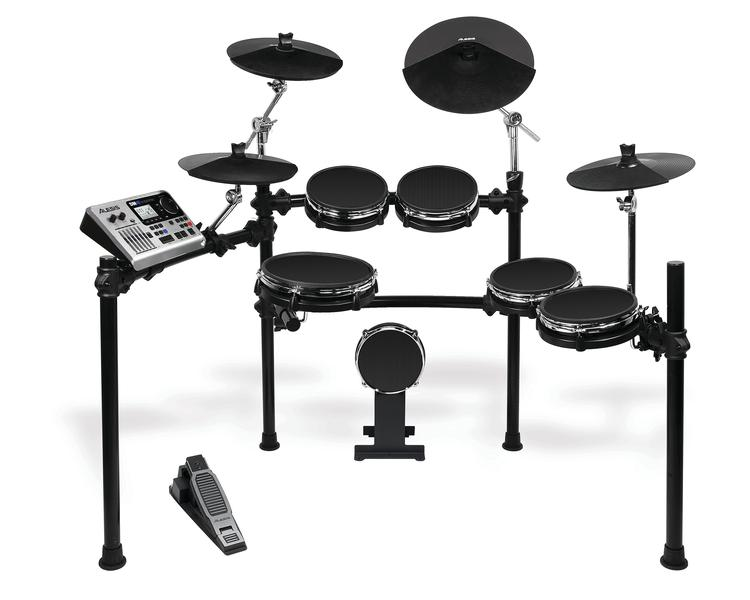 alesis dm10 studio mesh 6 piece electronic drum kit with mesh drumheads sweetwater. Black Bedroom Furniture Sets. Home Design Ideas