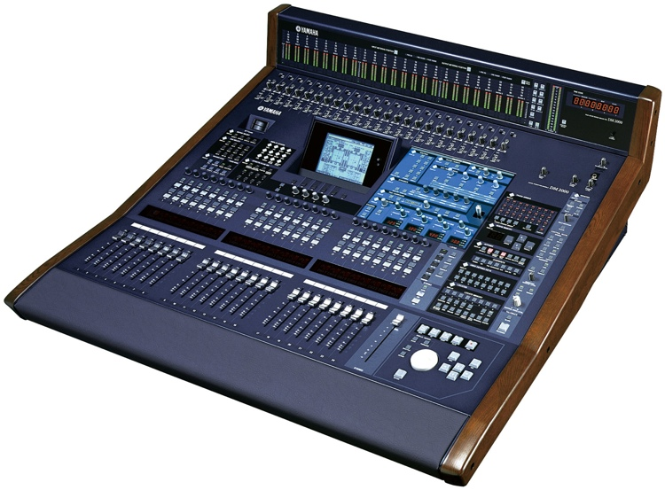 Yamaha DM 2000 VCM v2 Digital Mixer image 1