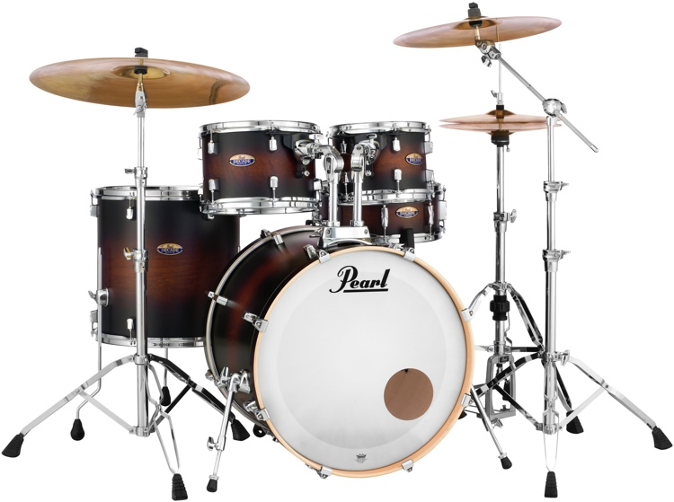 Pearl Decade Maple Shell Pack - 5pc - Satin Brownburst