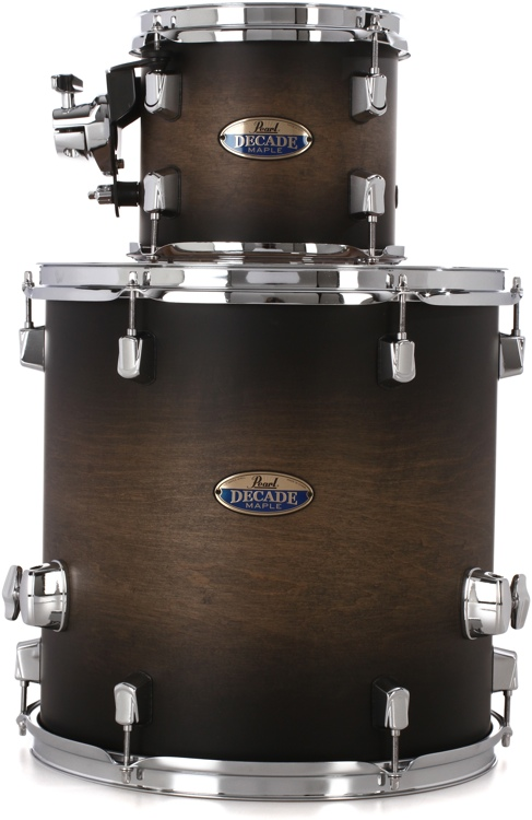 Pearl Decade Maple 2-piece Add-on Pack - Satin Blackburst image 1