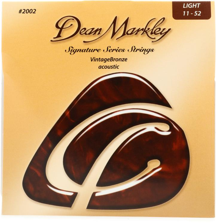 Dean Markley 2002 VintageBronze 85/15 Bronze Light Acoustic Strings image 1
