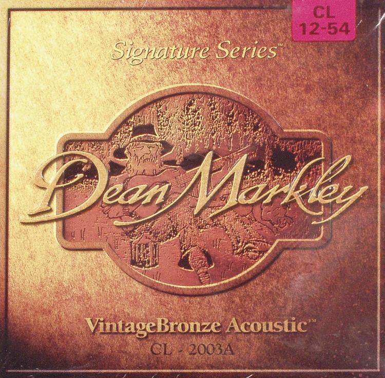 Dean Markley 2003 VintageBronze 85/15 Bronze Custom Light Acoustic Strings image 1