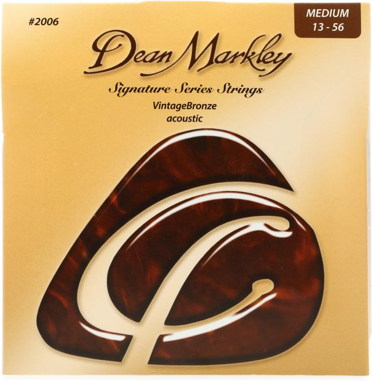 Dean Markley 2006 VintageBronze 85/15 Bronze Medium Acoustic Strings image 1