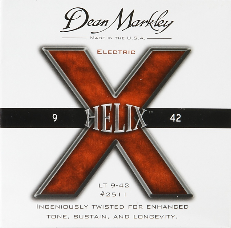 Dean Markley 2511 Helix HD Electric Guitar Strings - .009-.042 Light image 1
