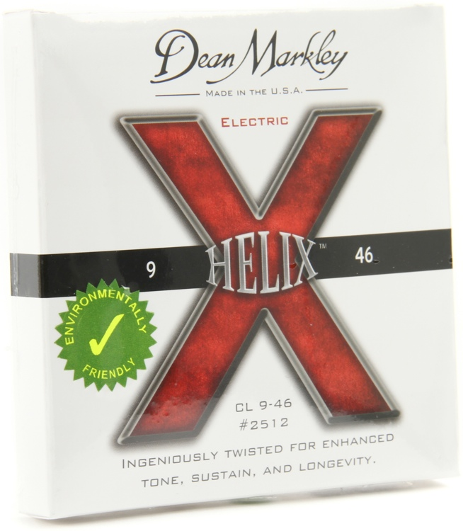 Dean Markley 2512 Helix HD Electric Guitar Strings - .009-.046 Custom Light image 1